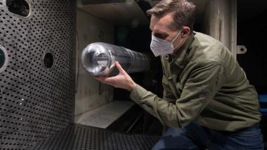 testare armă laser pentru aviația militară a SUA