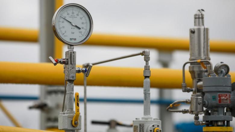manometre la conducta de gaze naturale