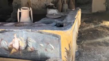 Descoperire impresionantă în Pompeii
