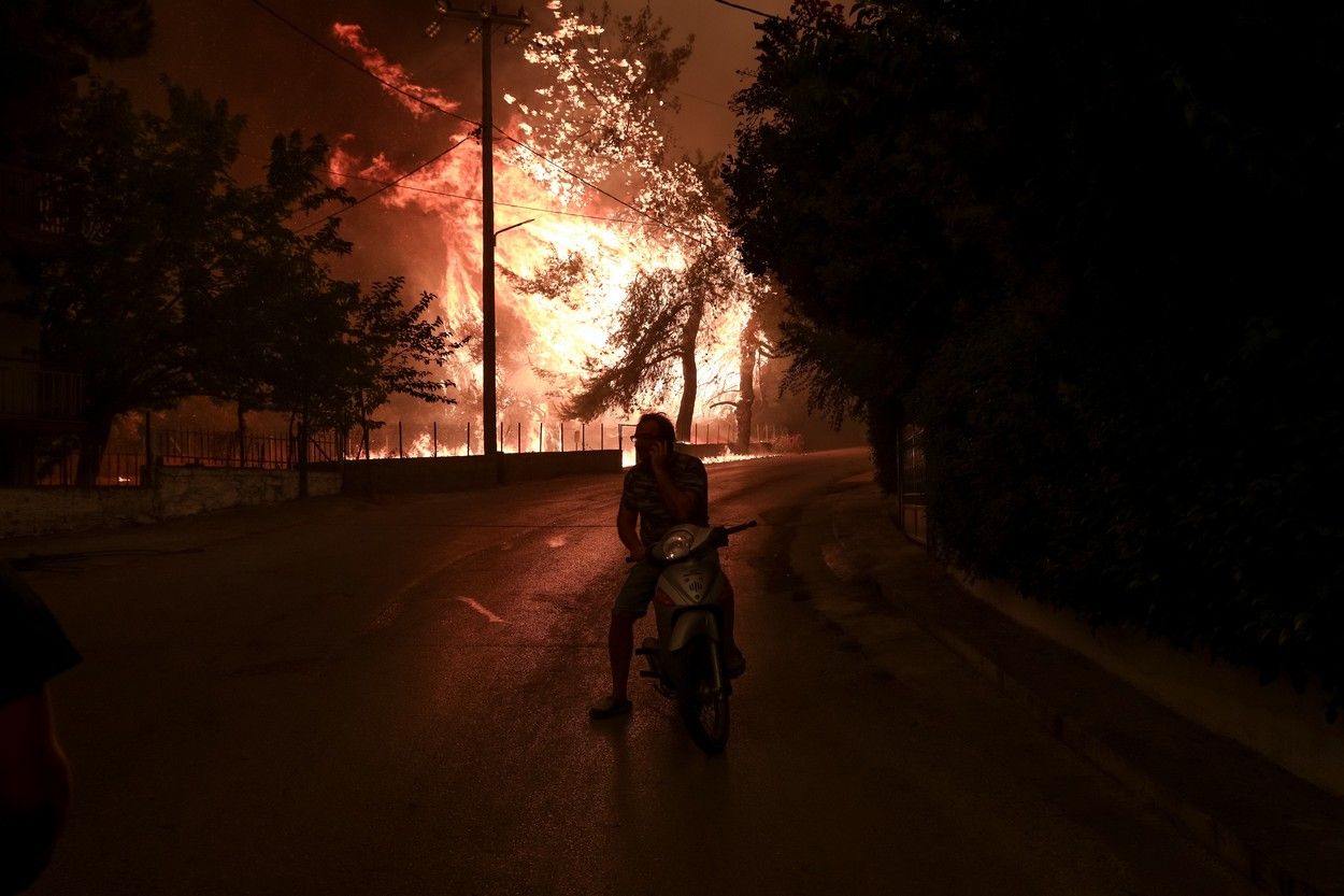 Wildfires 2021 in Greece
