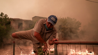 Wildfires in Greece 2021