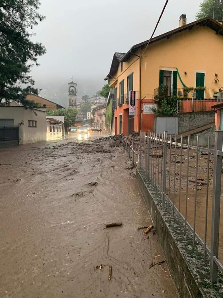 Heavy Rainfall In Northern Italy Causes Severe Damage To Isolated Towns And Agriculture
