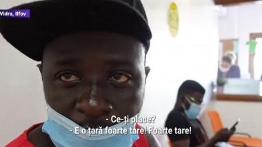 muncitori din ghana vaccinati in romania