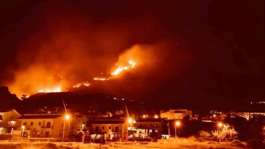 Record Heat And 'Criminal Hand' Cause Violent Fires In Sicily