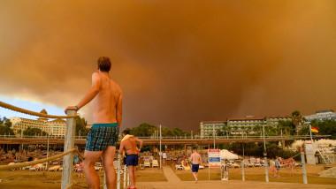 turiști incendii turcia