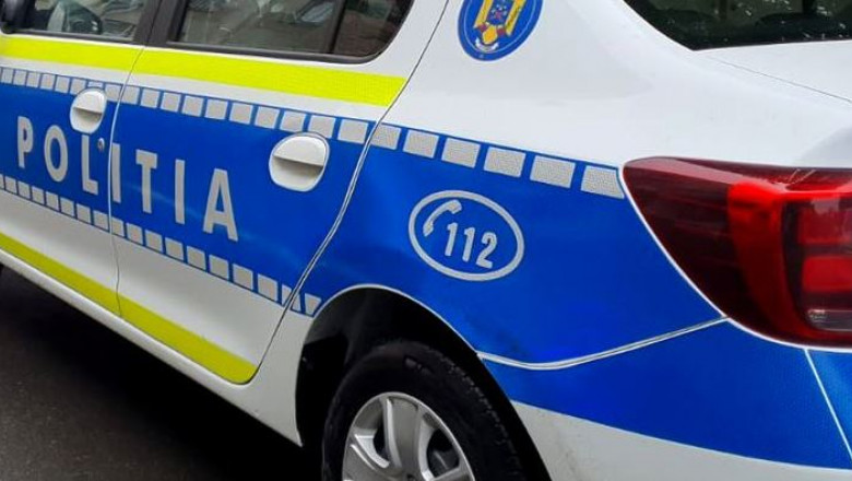 Mașină de poliție.