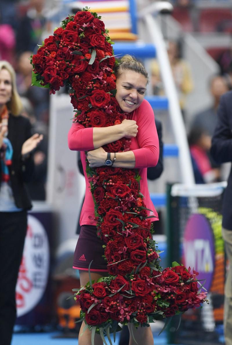 simona halep beijing 2017 nr 1 WTA flori profimedia-0352130426