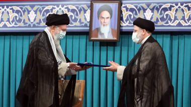 Ali Khamenei și Ebrahim Raisi
