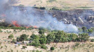 Italia, devastată de incendii.