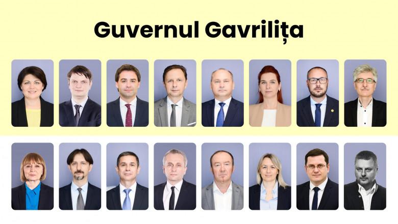guvernul desemnat natalia gavrilita republica moldova