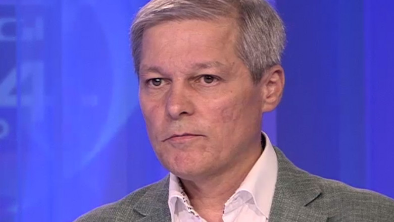 Dacian Cioloș în studioul Digi24