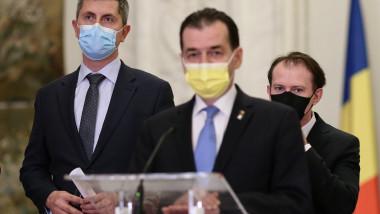 BUCURESTI - PARLAMENT - SEDINTA COALITIEI - 20 APR 2021