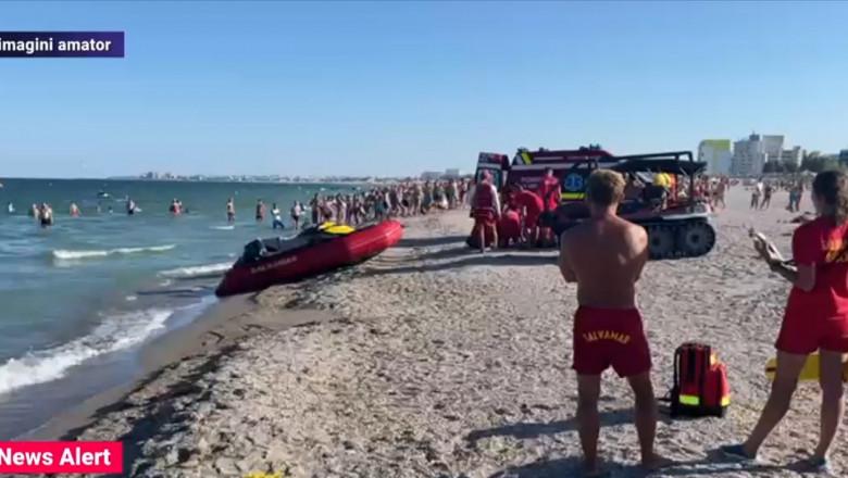 Un tânăr de 17 ani a murit înecat în stațiunea Mamaia