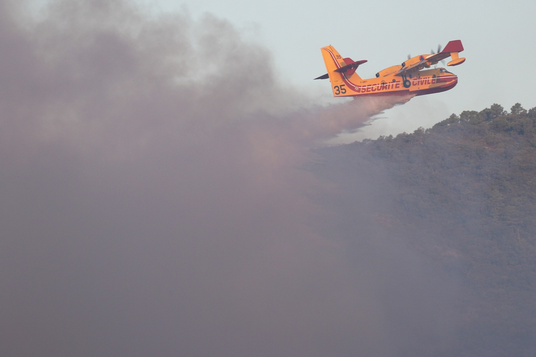 Monster Forest Fire In The Var - Aftermath