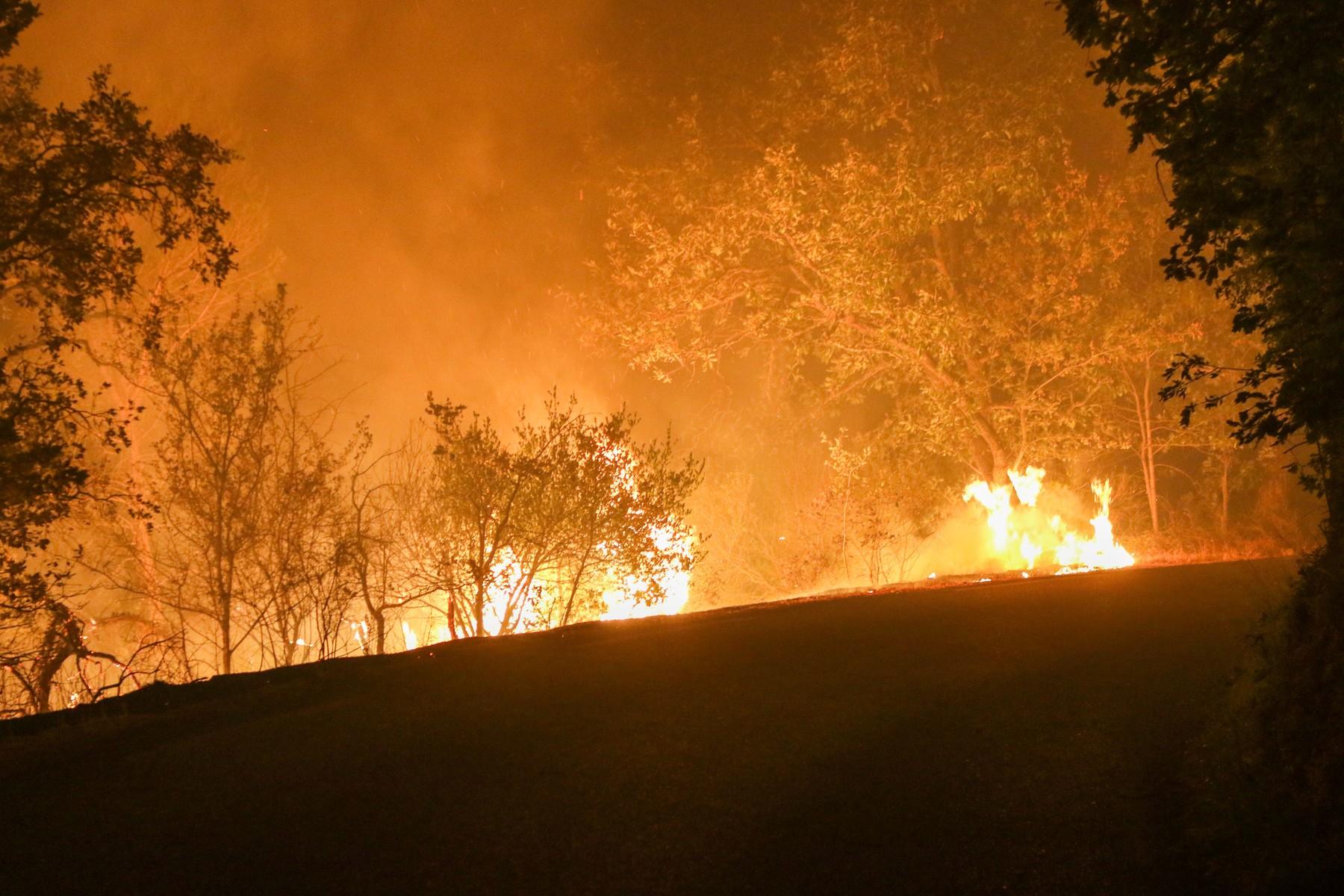 Monster Forest Fire In The Var