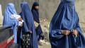 Femei afgane acoperite cu veșminte islamice