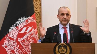 Amrullah Saleh face declarații.