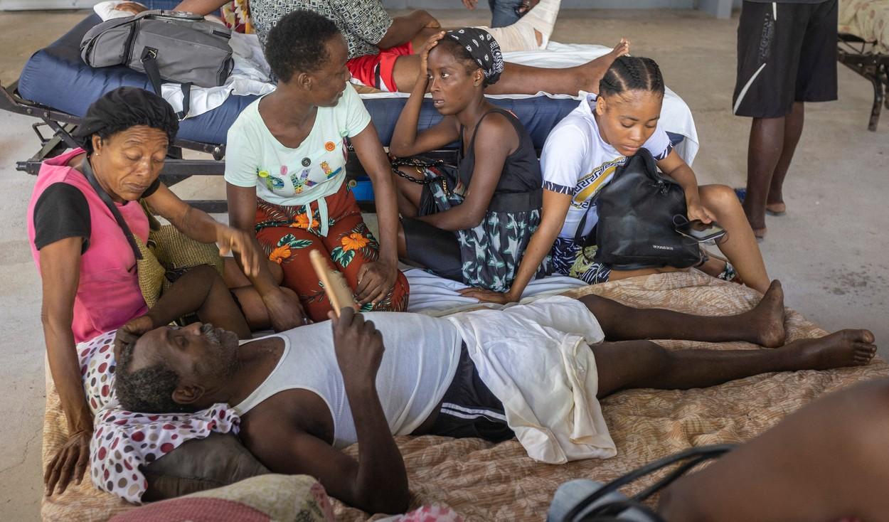 Haitieni sinistrați după cutremur