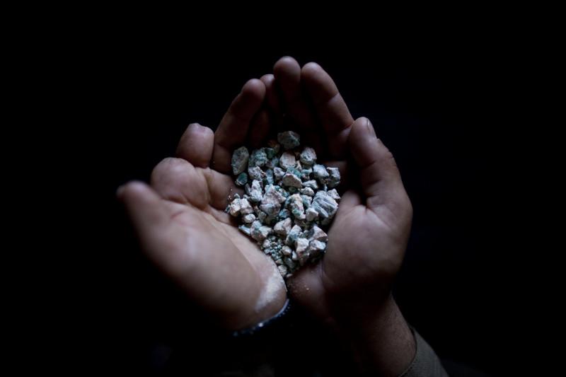 Emerald Mining In The Panjshir Valley, Afghanistan