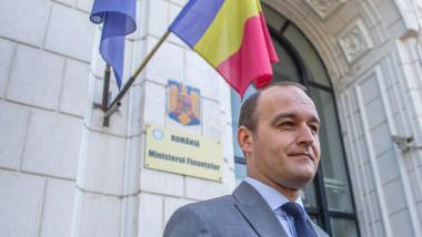 ministrul finantelor dan vilceanu la minister