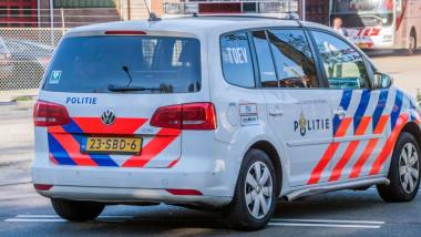 Mașină a poliției olandeze.