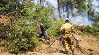 Pompieri români în lupta cu incendiile din Grecia.