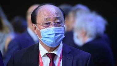North Korean Ambassador Sin Hong-chol