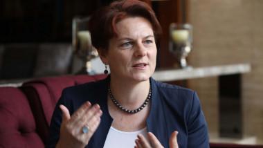Diana Mickeviciene, ambasadoarea Lituaniei la Beijing