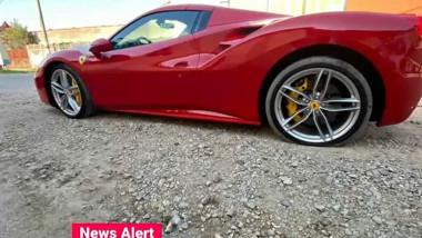 Șoferul unui Ferrari care a lovit un polițist va fi propus pentru extrădare