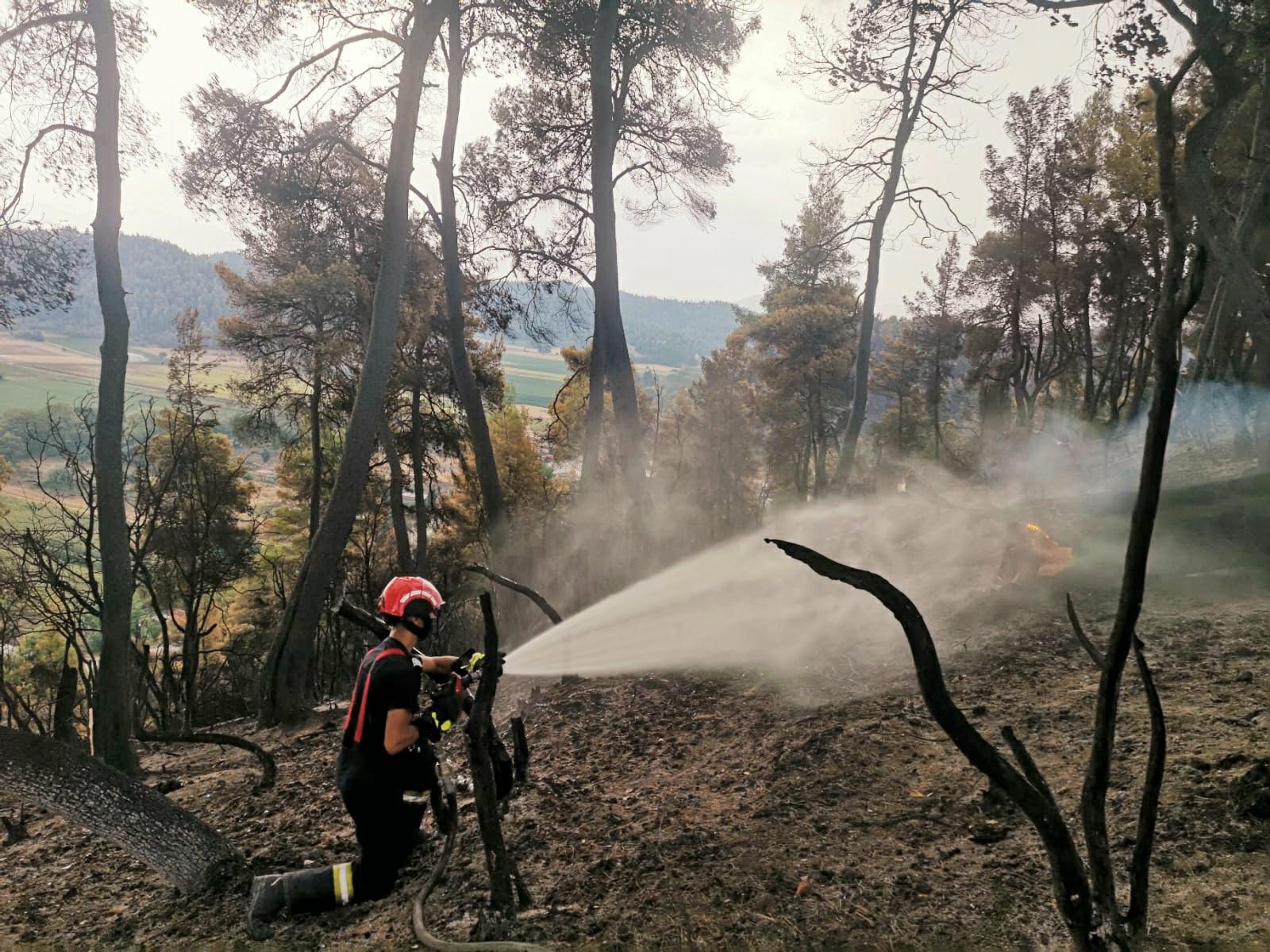pompieri romani in Grecia