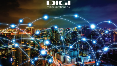 grafica reprezentand compania de comunicatii digi