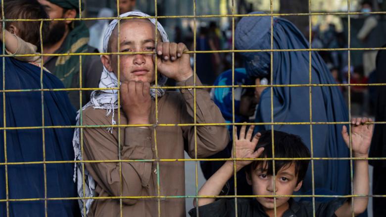 copii pe strazile din kabul