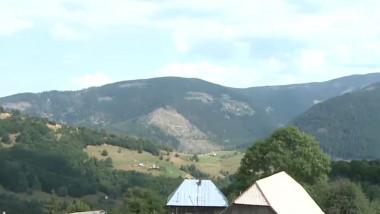 Peisaj din munții Apuseni.