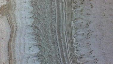 Gheața de la polul sudic al planetei Marte.