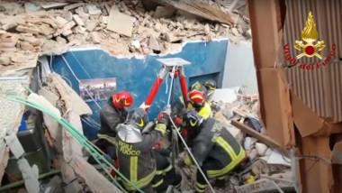 Bloc prăbușit la Torino în urma unei explozii