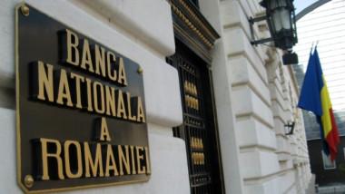 Imagine cu intrarea în BNR.