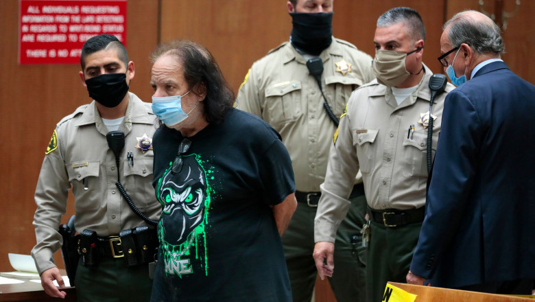 Ron Jeremy charged with sexual assault, Los Angeles, USA - 23 Jun 2020