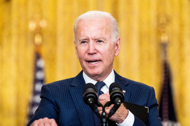 President Joe Biden on the Attack at Kabul Airport in Washington, US - 26 Aug 2021