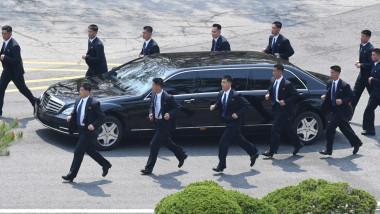 Bodyguarzii lui Kim Jong-un