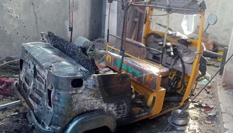 masina lovita de drona afganistan profimedia-0629205759