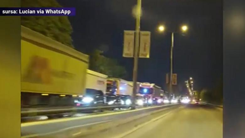 coada de masini la vama cu bulgaria