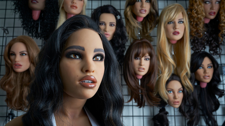 EXCLUSIVE: She's a love machine!! meet The Real Dolls!