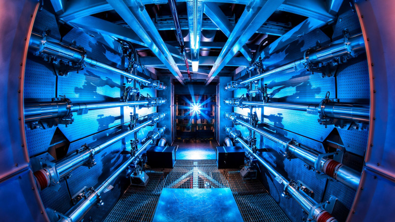 The preamplifiers of the National Ignition Facility are the first step in increasing the energy of laser beams as they make their way toward the target chamber
