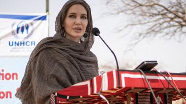 Angelina Jolie în misiune ONU