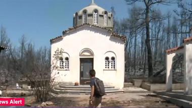 biserica grecia incendii