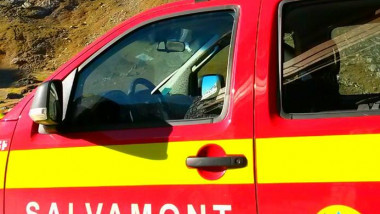 Mașină a Salvamont.