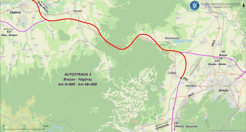 harta autostradda bv fag drula