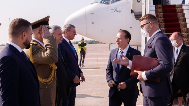 citu aurescu ucraina avion