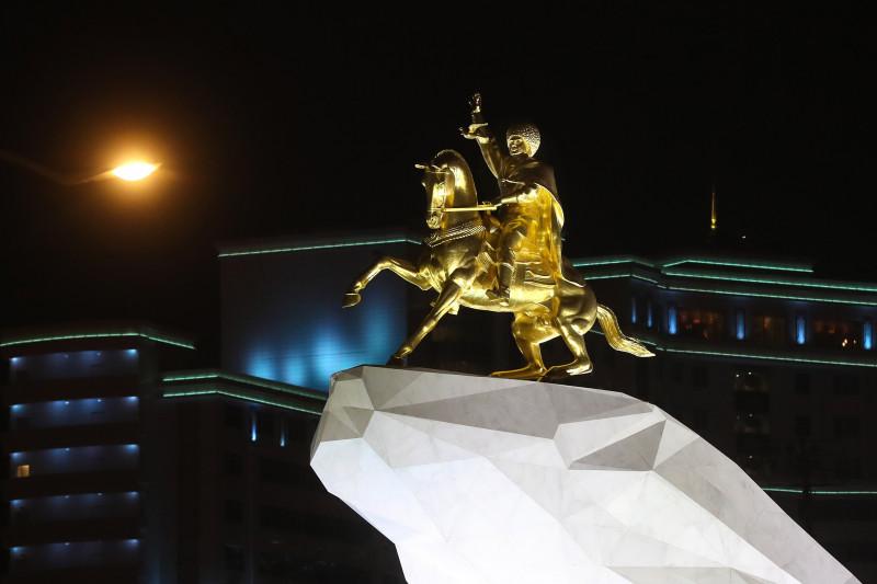 Ashgabat, Turkmenistan in pictures