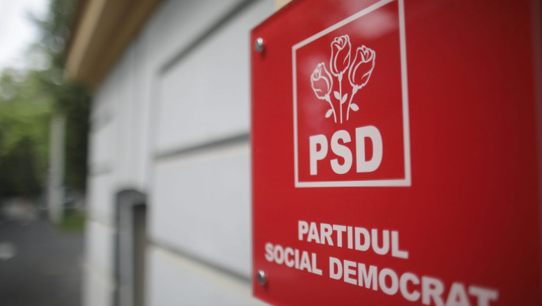 Sediul central al PSD.